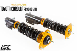 ISC-COILOVERS-SUSPENSION-TOYOTA COROLLA AE92
